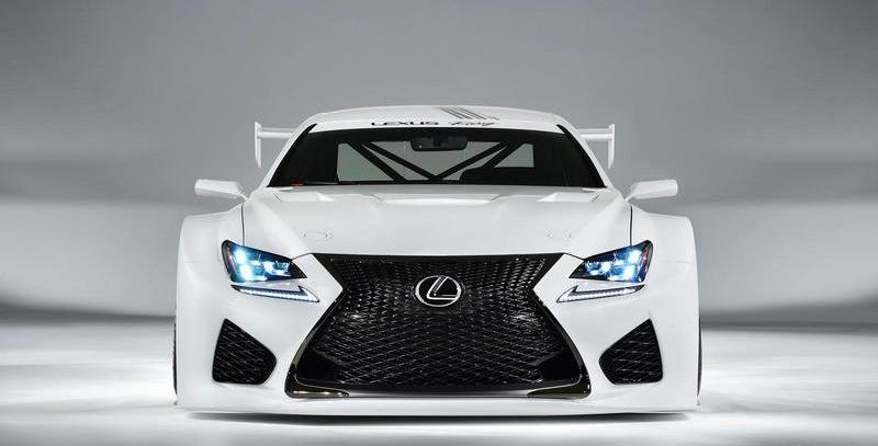 2015 Lexus RC F GT3 Concept