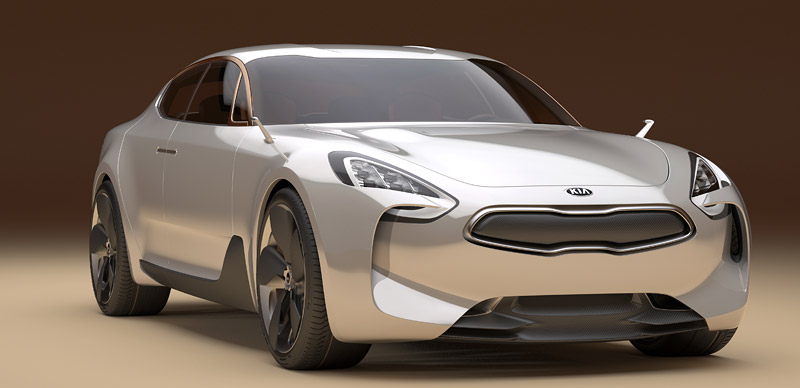 Projekt Kia GT vdalší fázi
