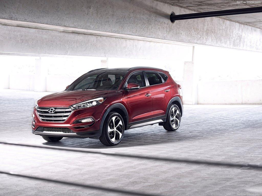 Hyundai Tucson pro rok 2016