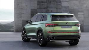 Škoda Vision S jako hybrid