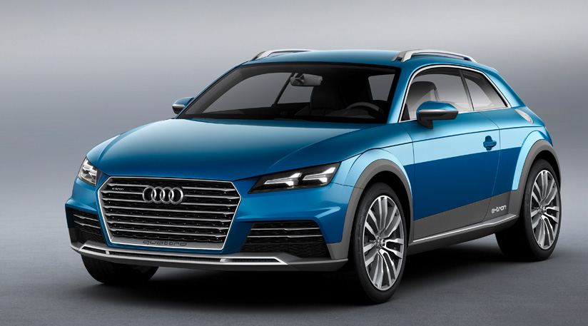 Audi Allroad Shooting Brake koncepce (2014), první oficiální obrázky