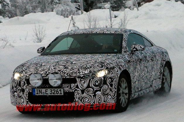 Audi TT projde redesignem, unikly první snímky