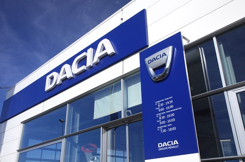 Vozy Dacia