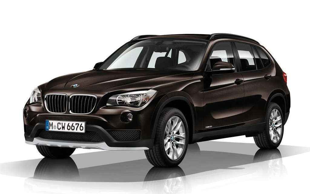 BMW X1: do sucha i do vody