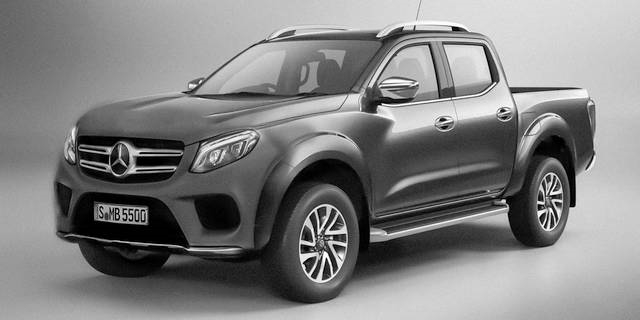 Pick-up od Mercedesu
