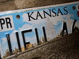 Kansaské registrační značky jsou rasistické a musí se vyměnit