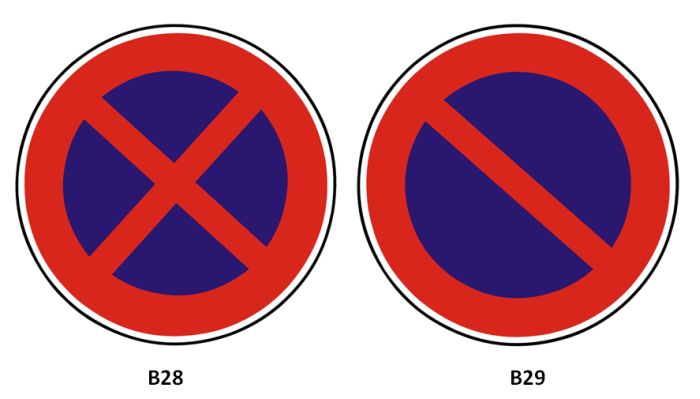 Zákaz zastavení/stání: dopravní značky, se kterými mají řidiči problém