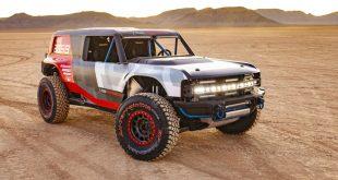 Závodní Bronco odhaluje, jak bude vypadat jeho sériová verze