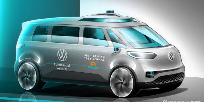 Elektrický minibus od Volkswagenu by mohl být jeho prvním autonomním vozem